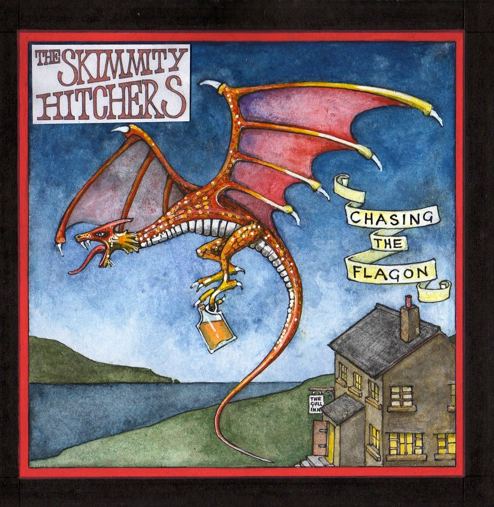 Image of Skimmity Hitchers 'Chasing The Flagon' CD