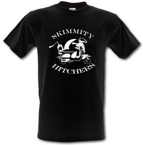 Image of Skimmity Hitchers 'Two Tone Scooter' t-shirt MENS FIT