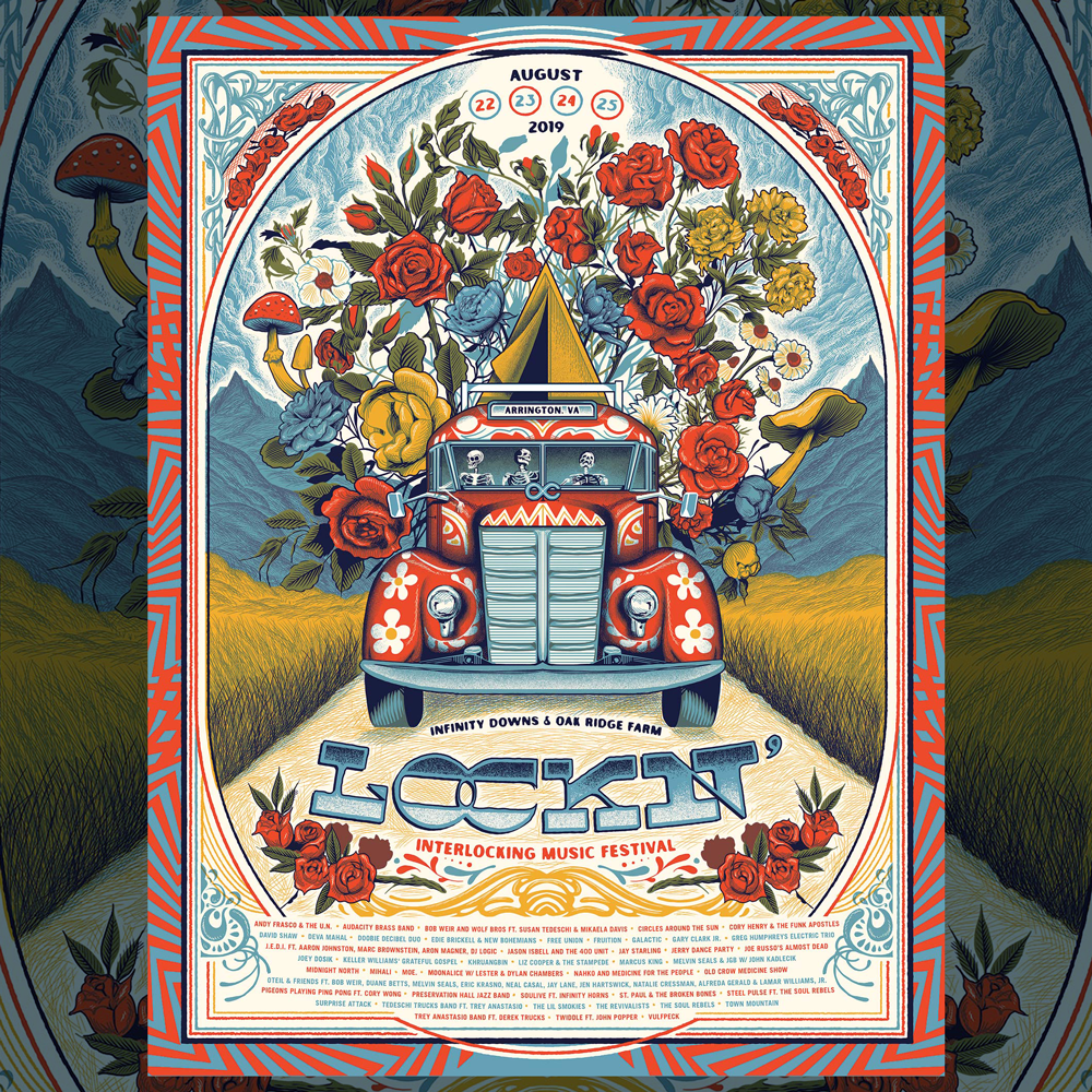 Image of Lockn' 2019 Print