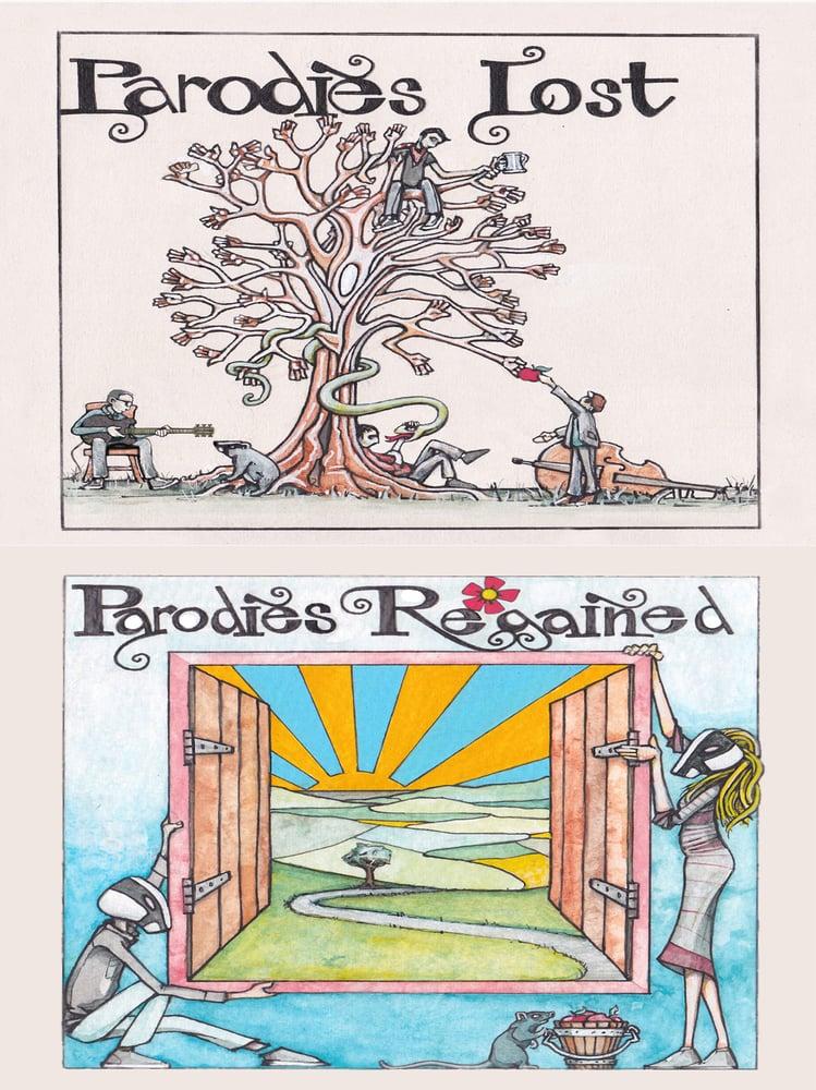 Image of Skimmity Hitchers 'Parodies Lost - Parodies Regained' CD
