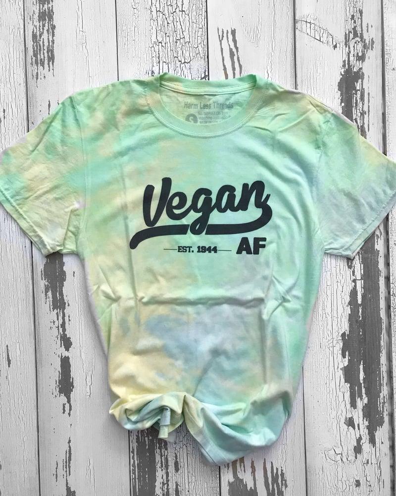 Image of Vegan af unisex tie dye