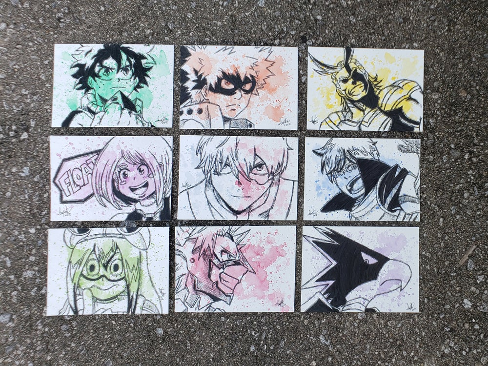 Image of My Hero Academia Character set 1