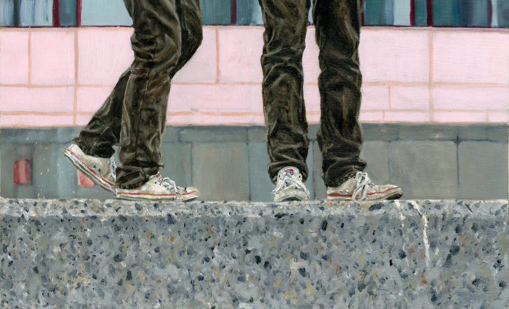 Sandy Shoes Print