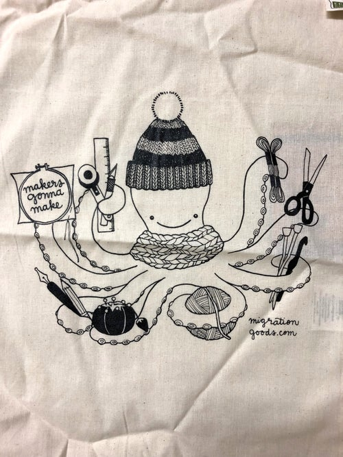 Image of craftopus project/produce bag