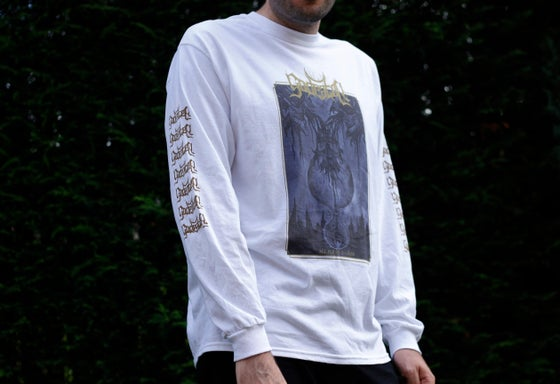 Image of 'All Flesh Is Grass' Long Sleeve T-Shirt (White)