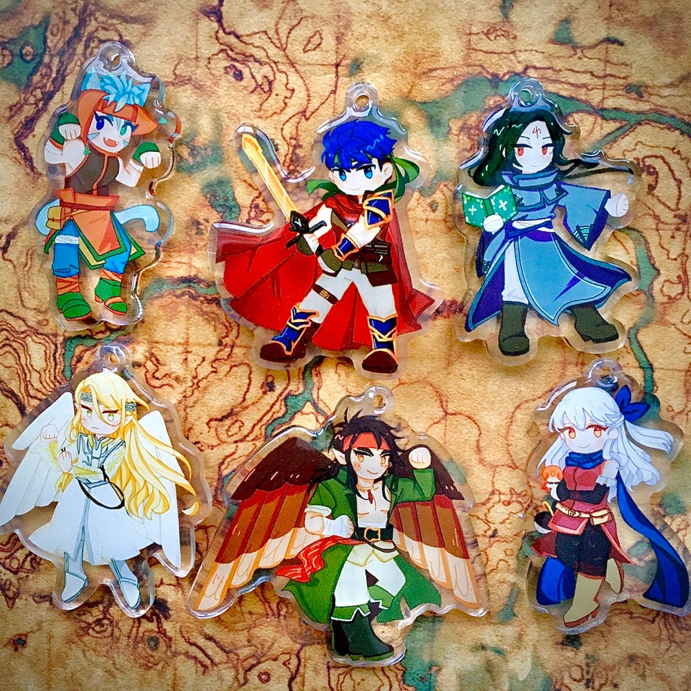 Image of Fire Emblem Tellius Charms!!