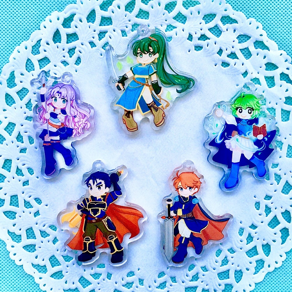 Image of FE7 Charms!