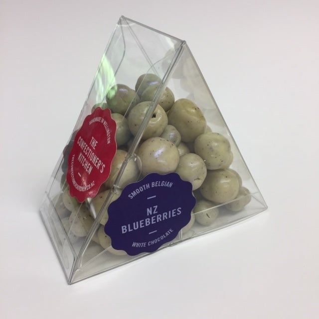 Image of Panned - New Zealand Blueberries in White Chocolate