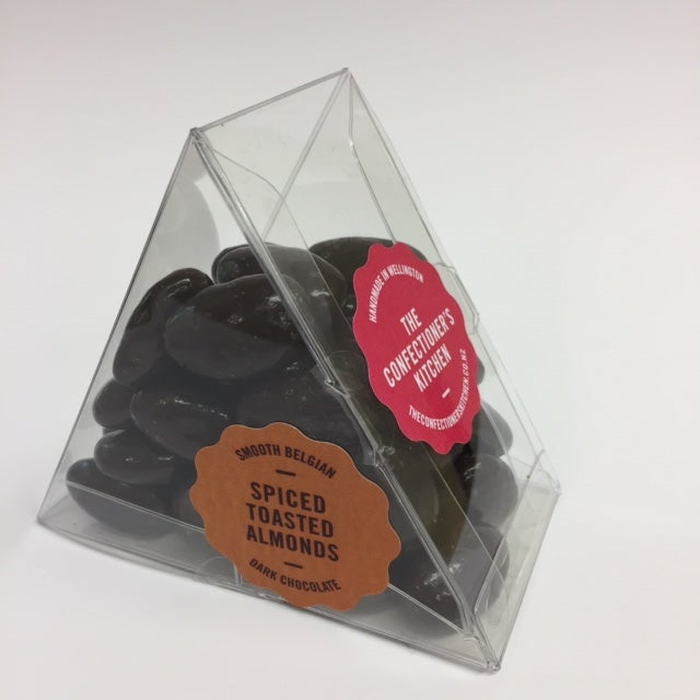 Image of Panned - Toasted Almonds with Gingerbread spice in Dark Chocolate