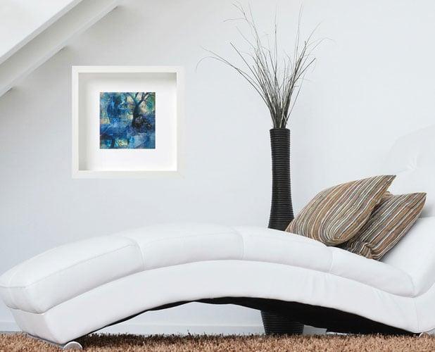 "Image of Gateway - Digital Photo Art  - 8""x8"" Print on Linen Paper, mat 12x12""."