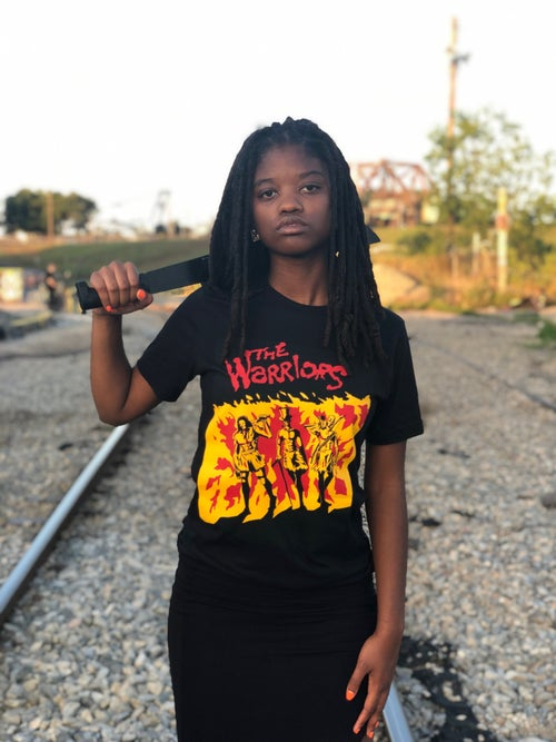 Image of The WARRIORS tee.