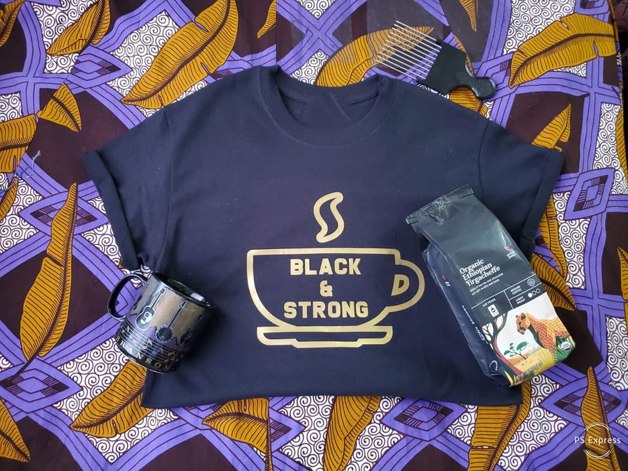 Image of Black & Strong (PreOrder)