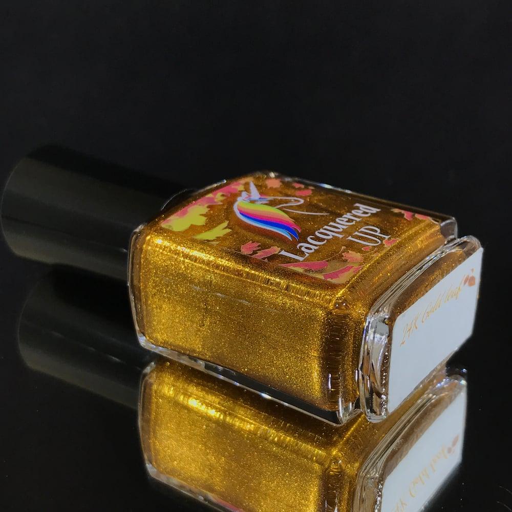 Image of 24K gold leaf🍁