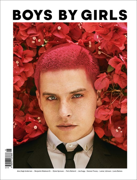 Image of BOYS BY GIRLS ISSUE 15 | GLEDE | PRINT ISSUE | DYLAN SPROUSE COVER