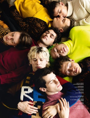 Image of BOYS BY GIRLS ISSUE 15 | GLEDE | PRINT ISSUE | LOUIS BAINES COVER