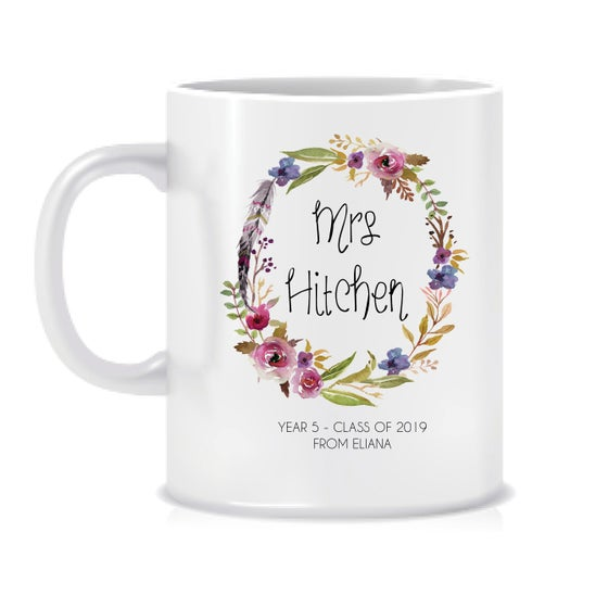 Image of Personalised Teacher Gift Mug