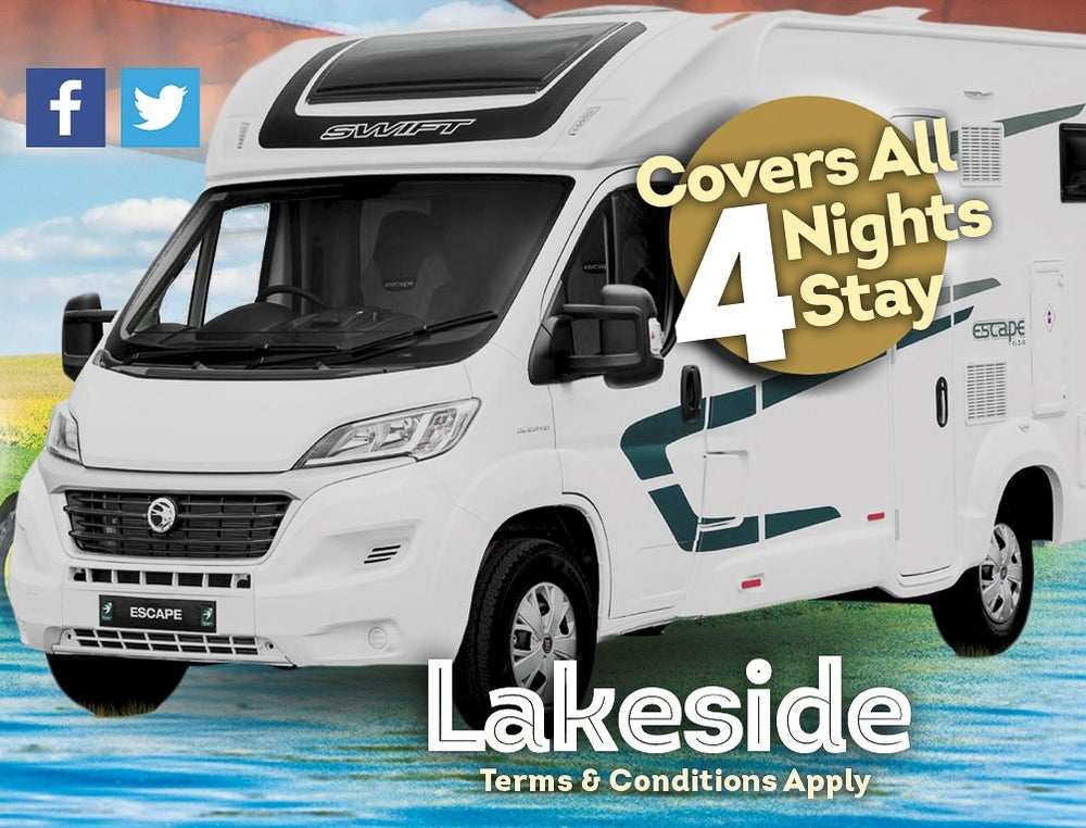 Image of Cowboys and Heroes 2020 Campervan Ticket - Lakeside