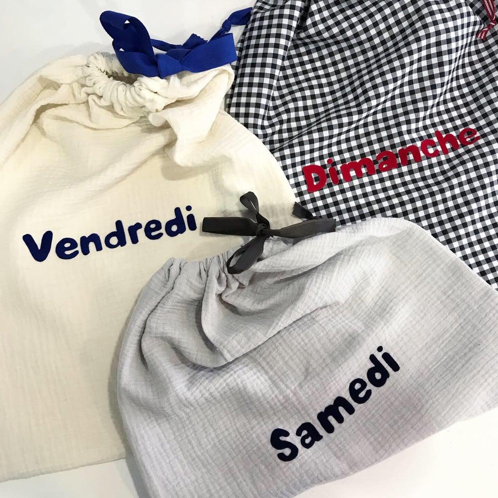 Image of Pochettes Semainier