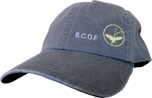Image of SCOF MAYFLY LOGO HAT (SIMMS,CHARCOAL)