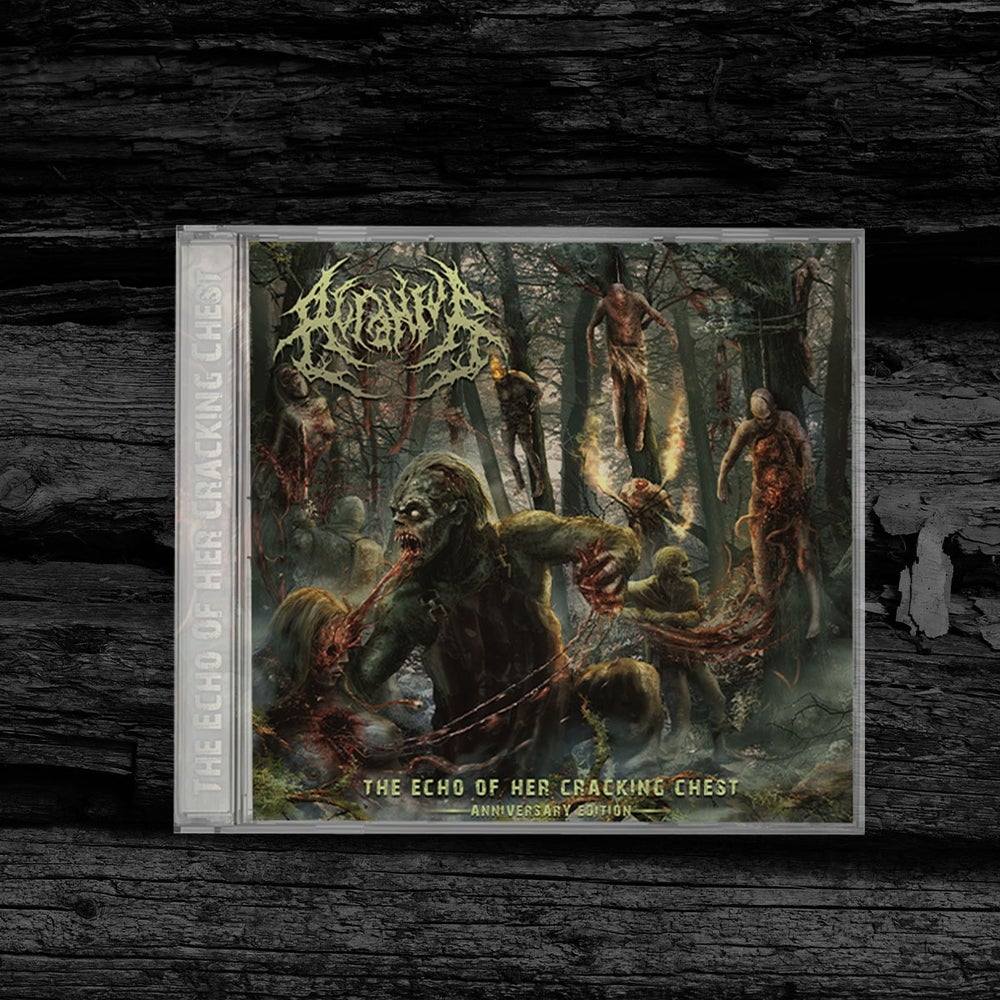 Image of ACRANIUS - The Echo Of Her Cracking Chest [Anniversary Edition] pre-order CD