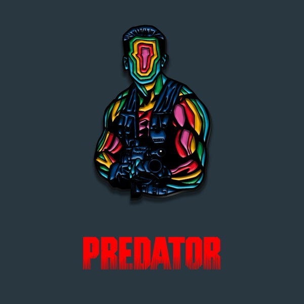 Image of Predator enamel pin badge (officially licensed)