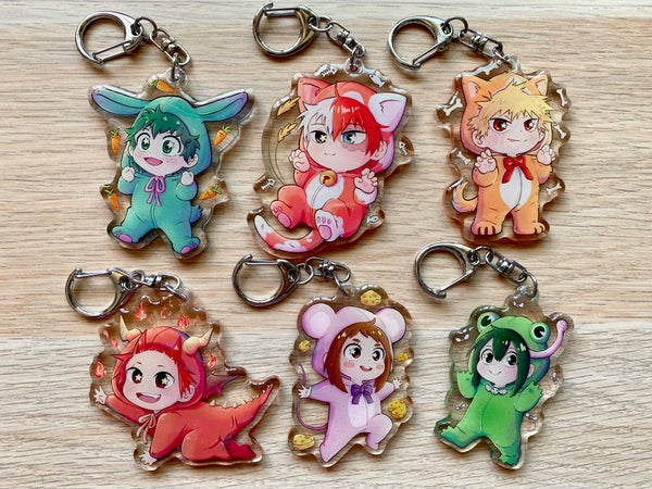 Image of  Bnha Animal Onesie CHARMS