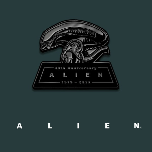 Image of Alien enamel pin badge (officially licensed)