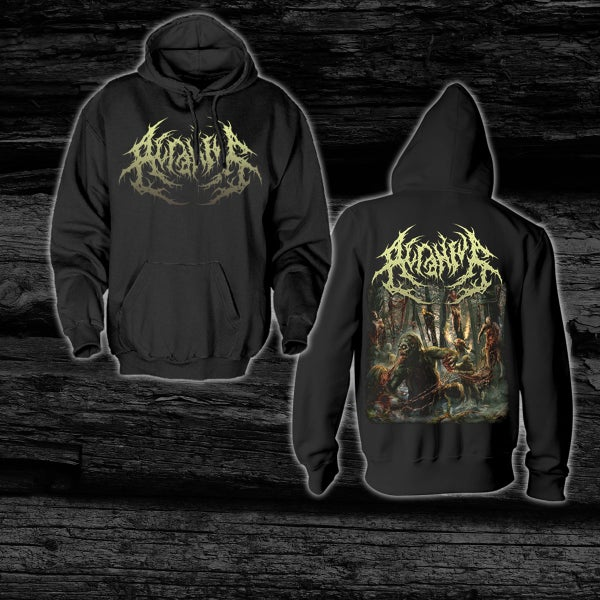 Image of ACRANIUS - The Echo Of Her Cracking Chest [Anniversary Edition]  Hoodie