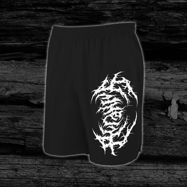 Image of ACRANIUS - The Echo Of Her Cracking Chest [Anniversary Edition] pre-order Shorts