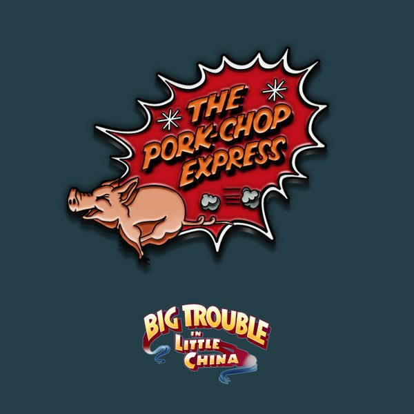 Image of Big Trouble in Little China enamel pin badge (officially licensed)
