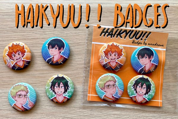 Image of Haikyuu!! Badges