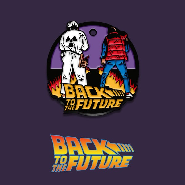 Image of Back to the Future keyring (officially licensed)