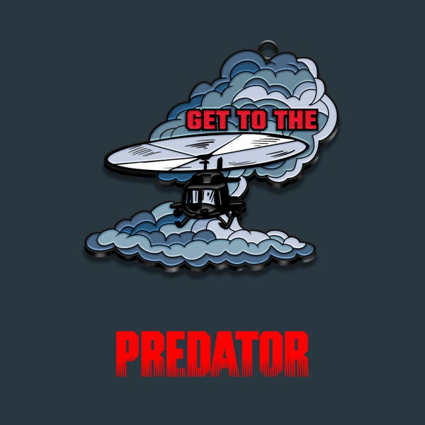 Image of Predator keyring (officially licensed)