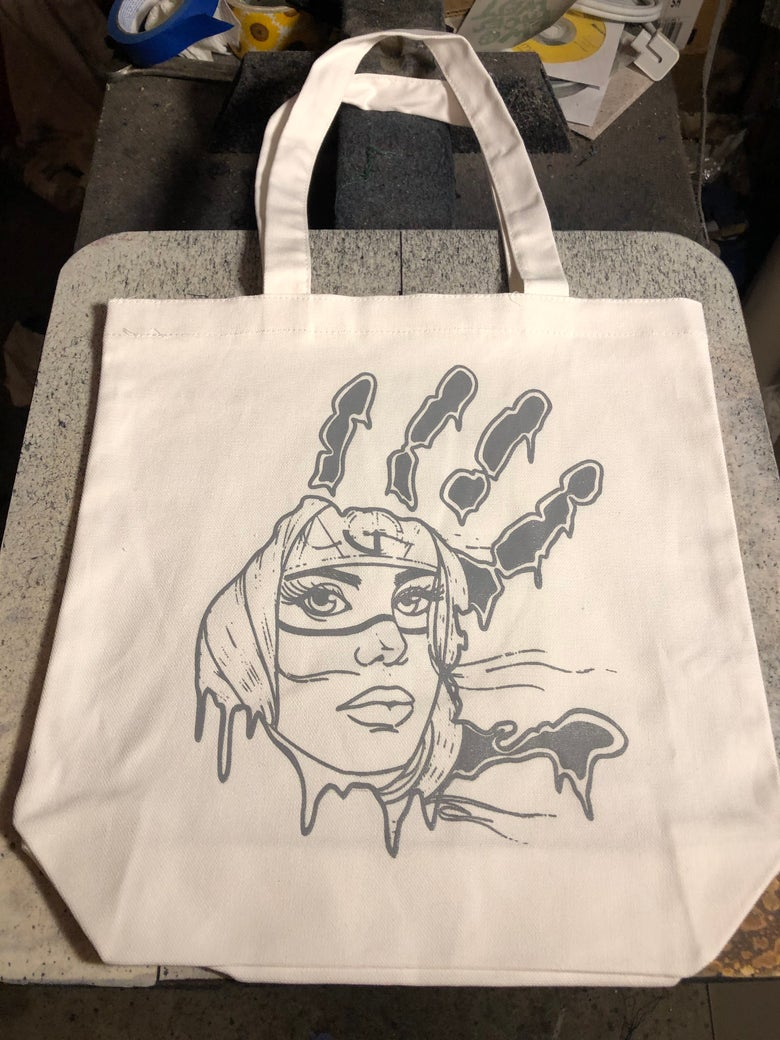 Image of MMIW canvas tote bag (natural)