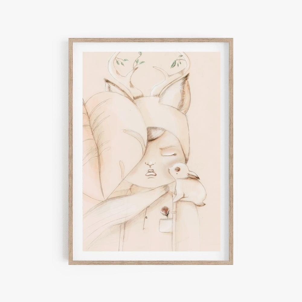 Image of PETIT HOMME - Carte postale illustrée n°2 imprimée