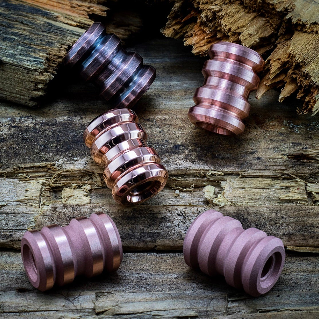Image of Copper Tank Beads