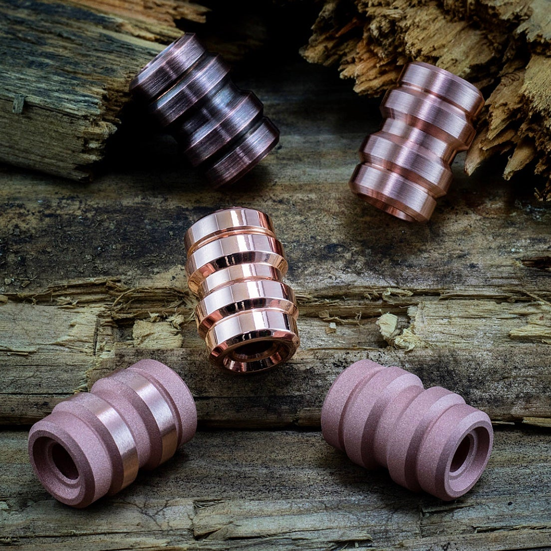 Image of Copper Keg Beads