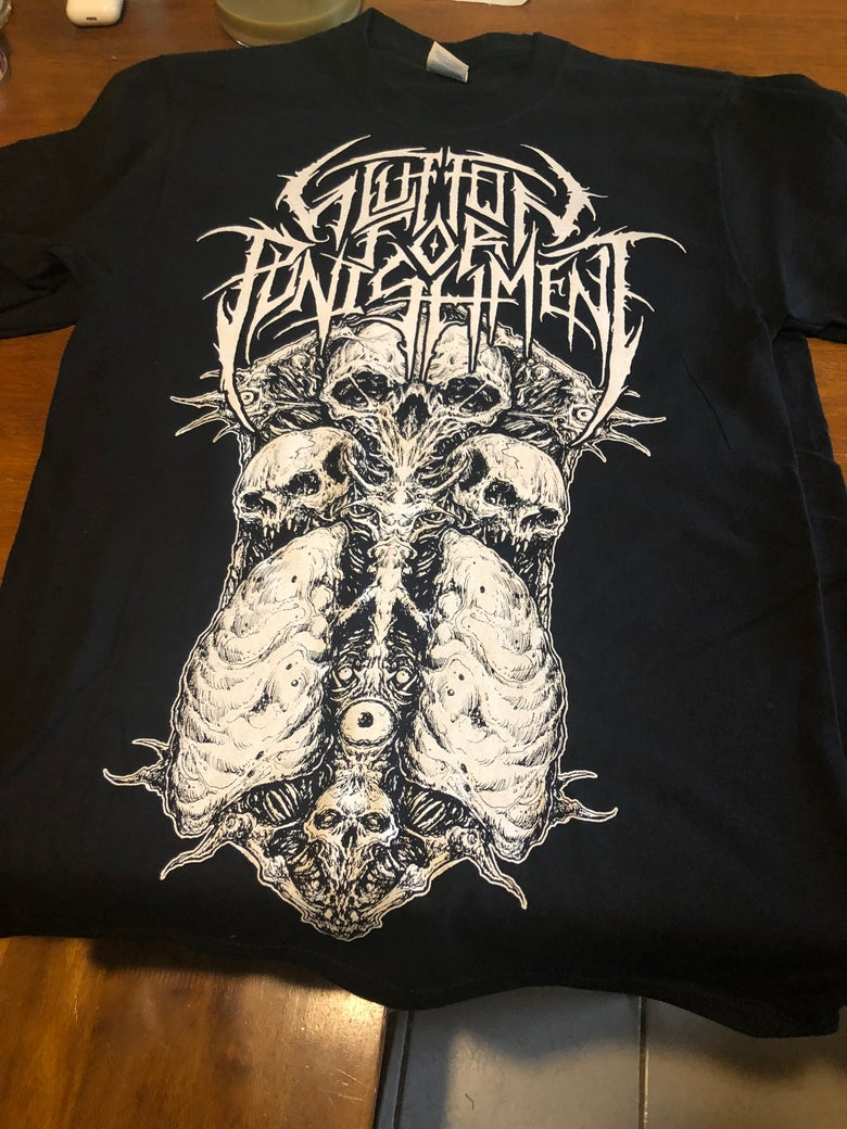 Image of Glutton for Punishment Lungs T Shirt
