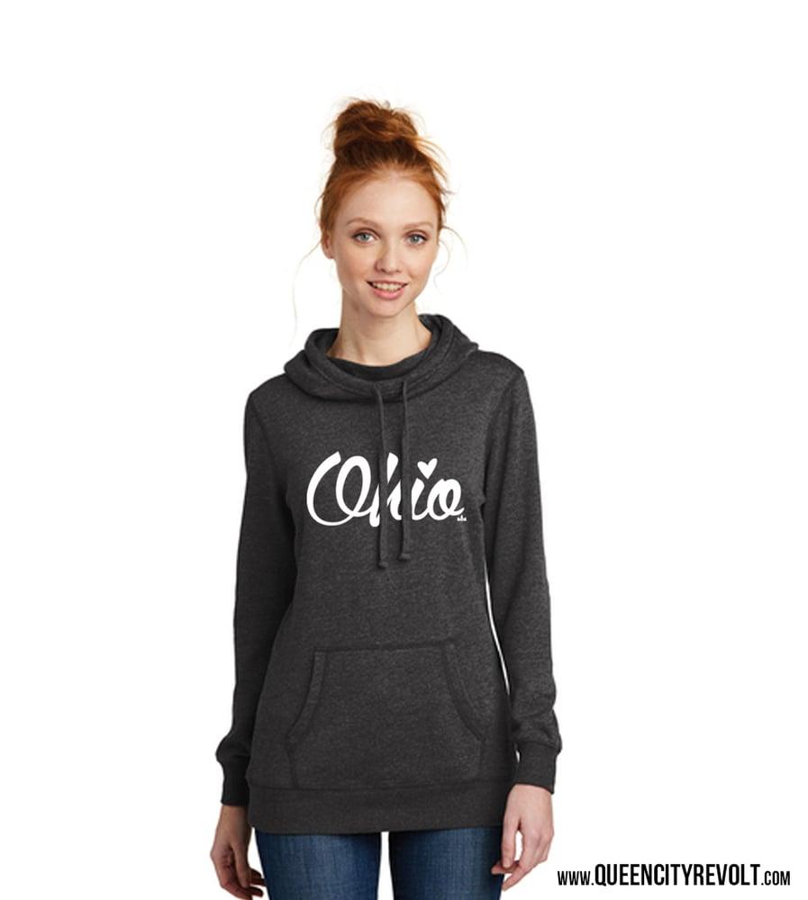 Image of Script Ohio, Women's Lightweight Hoodie,