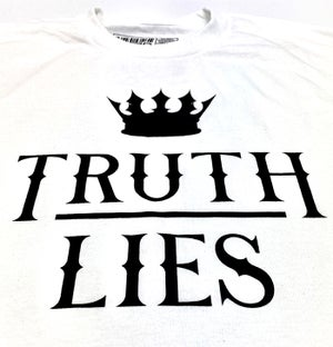 Image of TRUTH OVER LIES - WHITE
