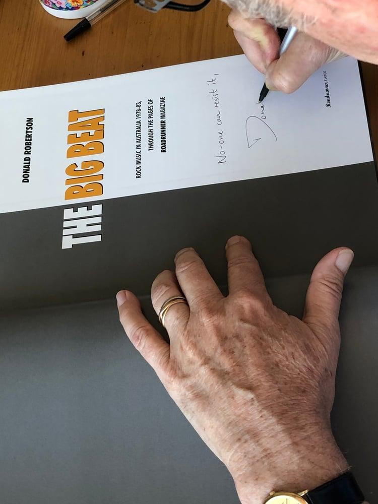Image of The Big Beat :: the Roadrunner magazine Anthology