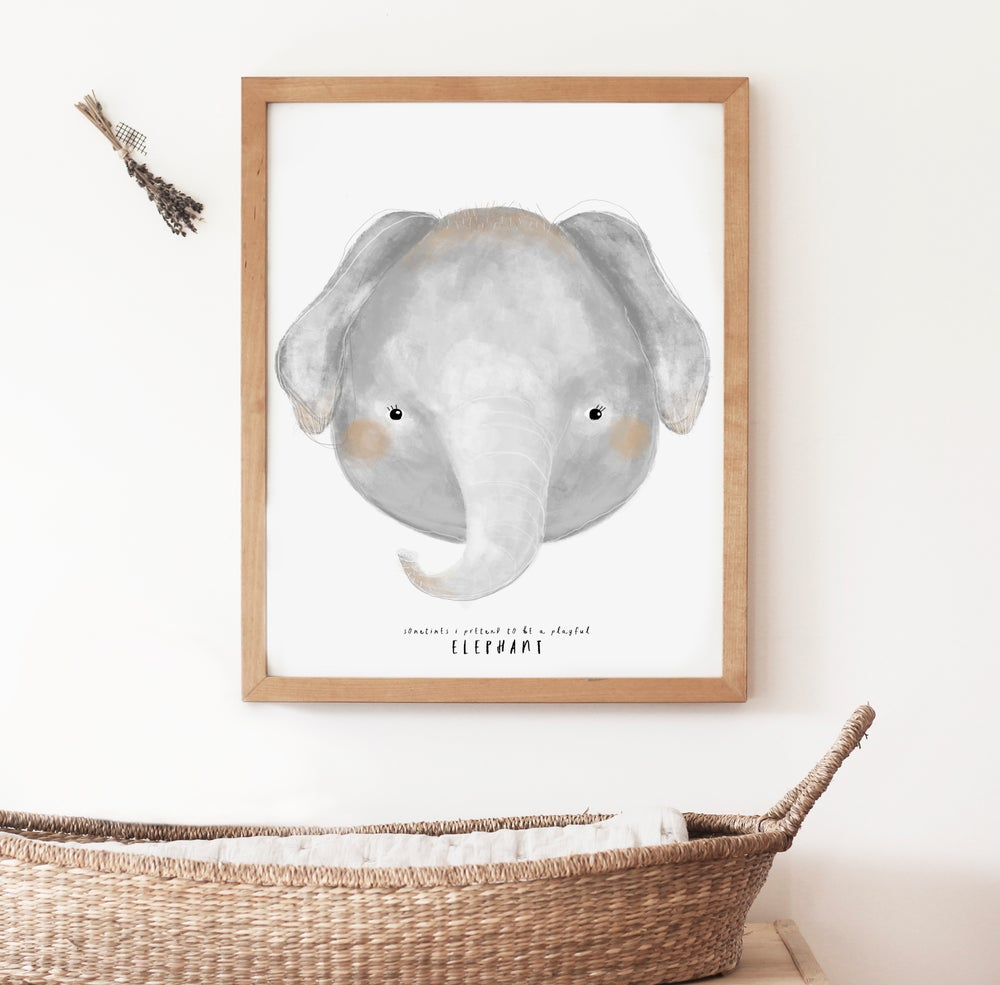 Image of ELEPHANT ILLUSTRATION