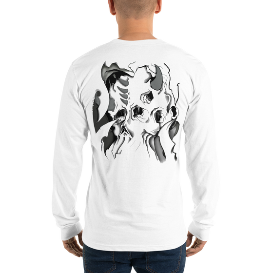 Image of Bio Skull Long Sleeve