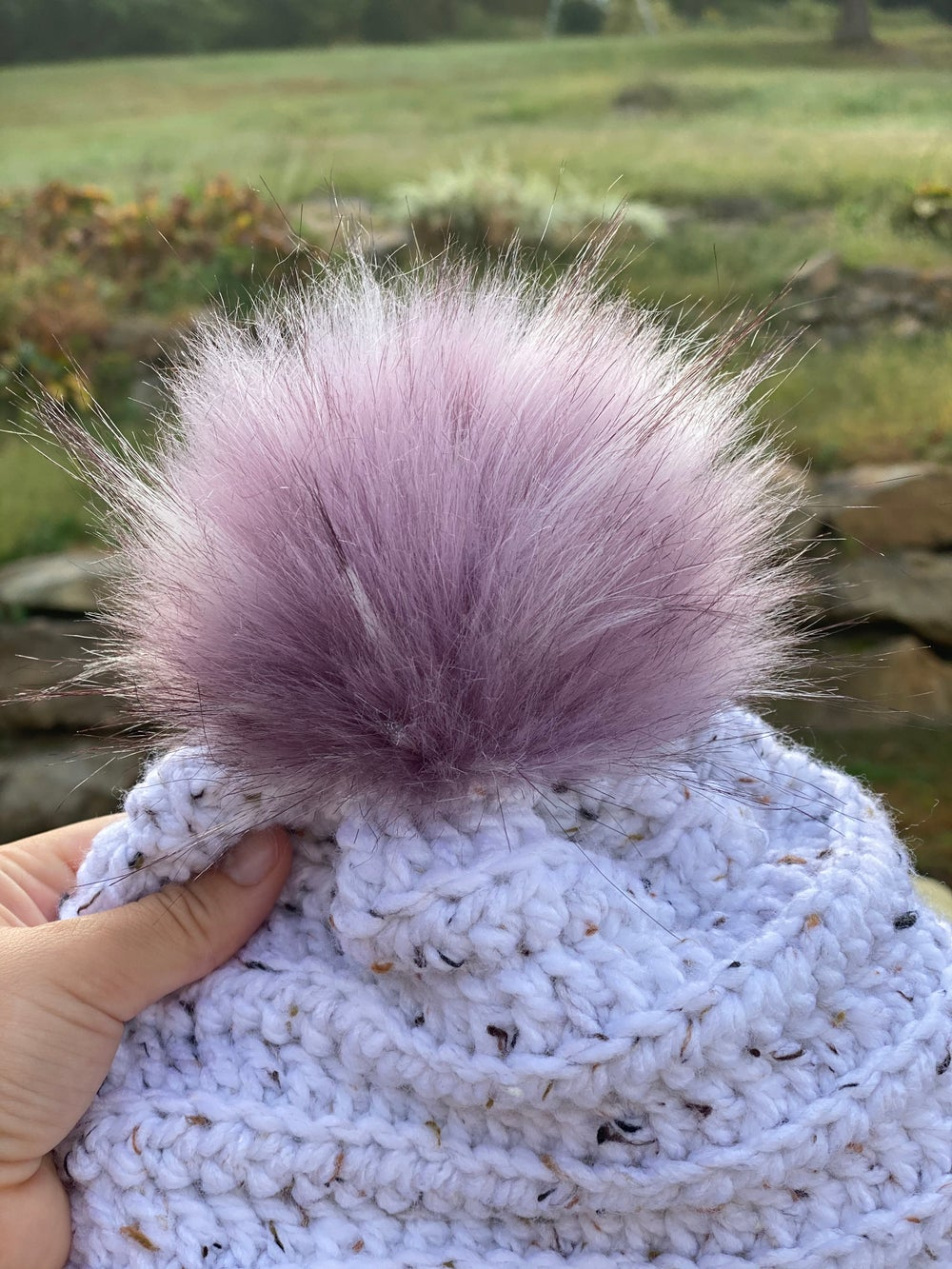 Image of Faux Fur Poms