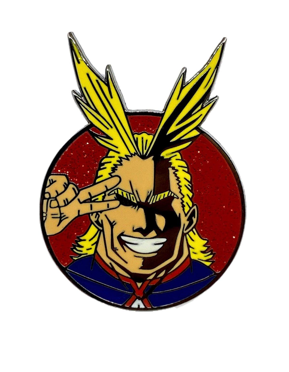 The Symbol of Peace Hard Enamel Pin