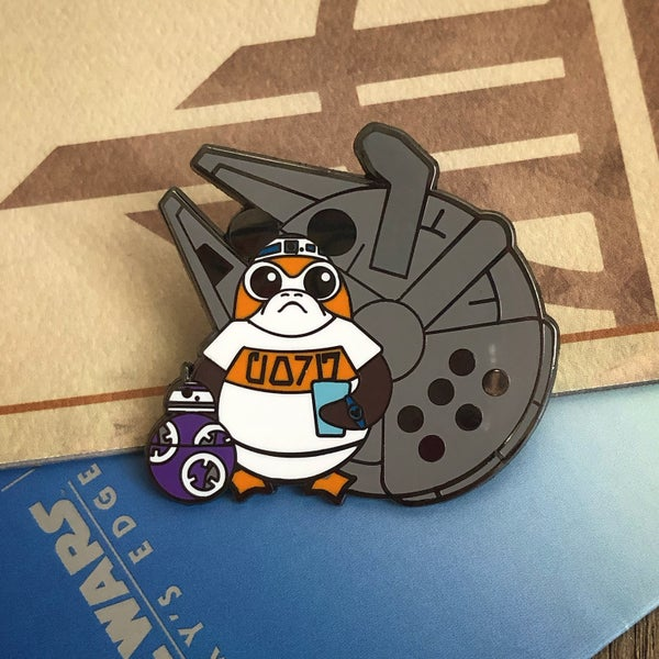 Image of SWGE Porg  pin