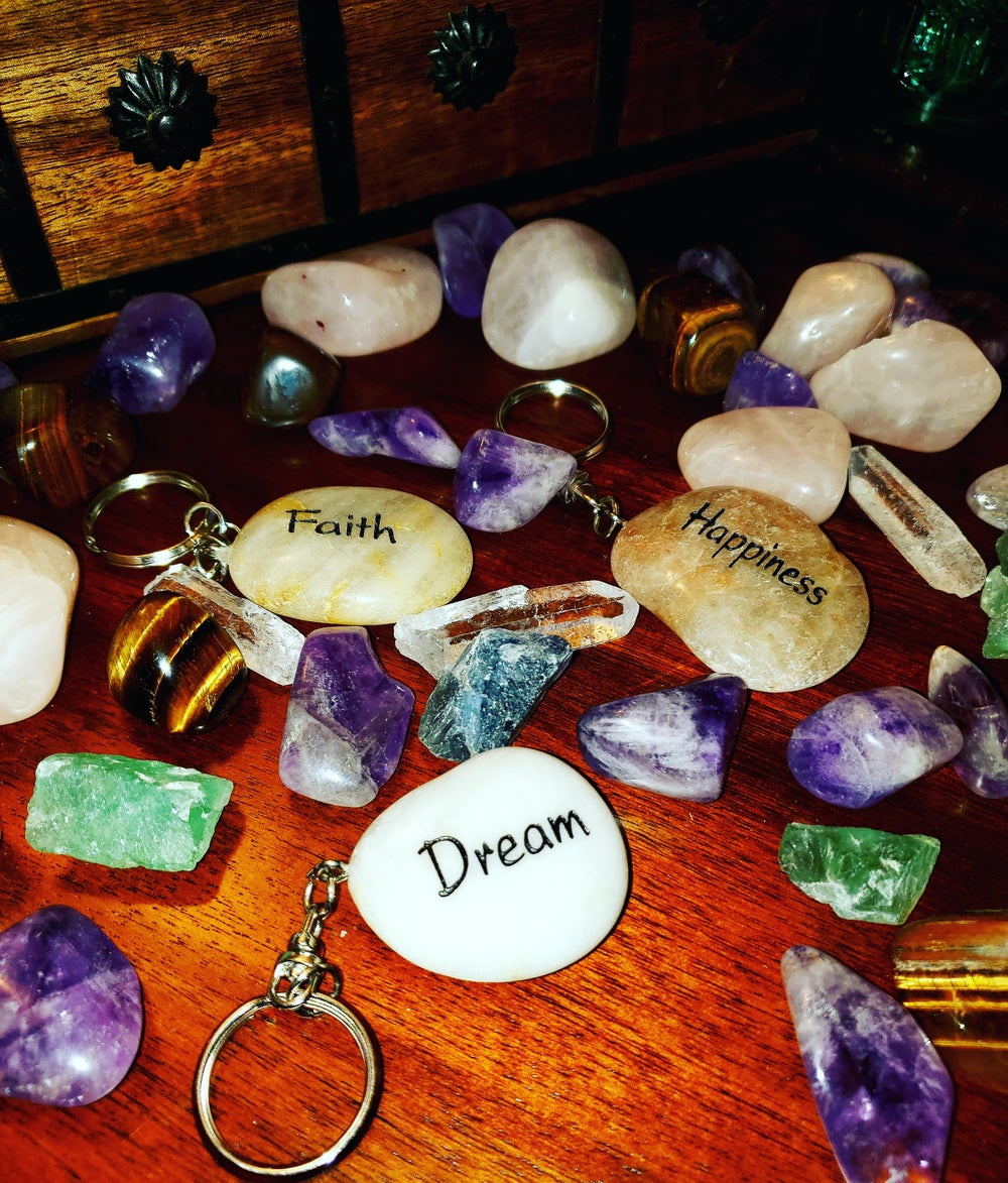 Image of Dream | Faith | Happiness Keychains
