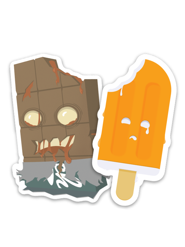 Image of Bite Sized Treat Sticker Pack