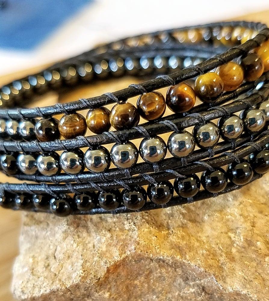 Image of Triple Protection Wrap Bracelet