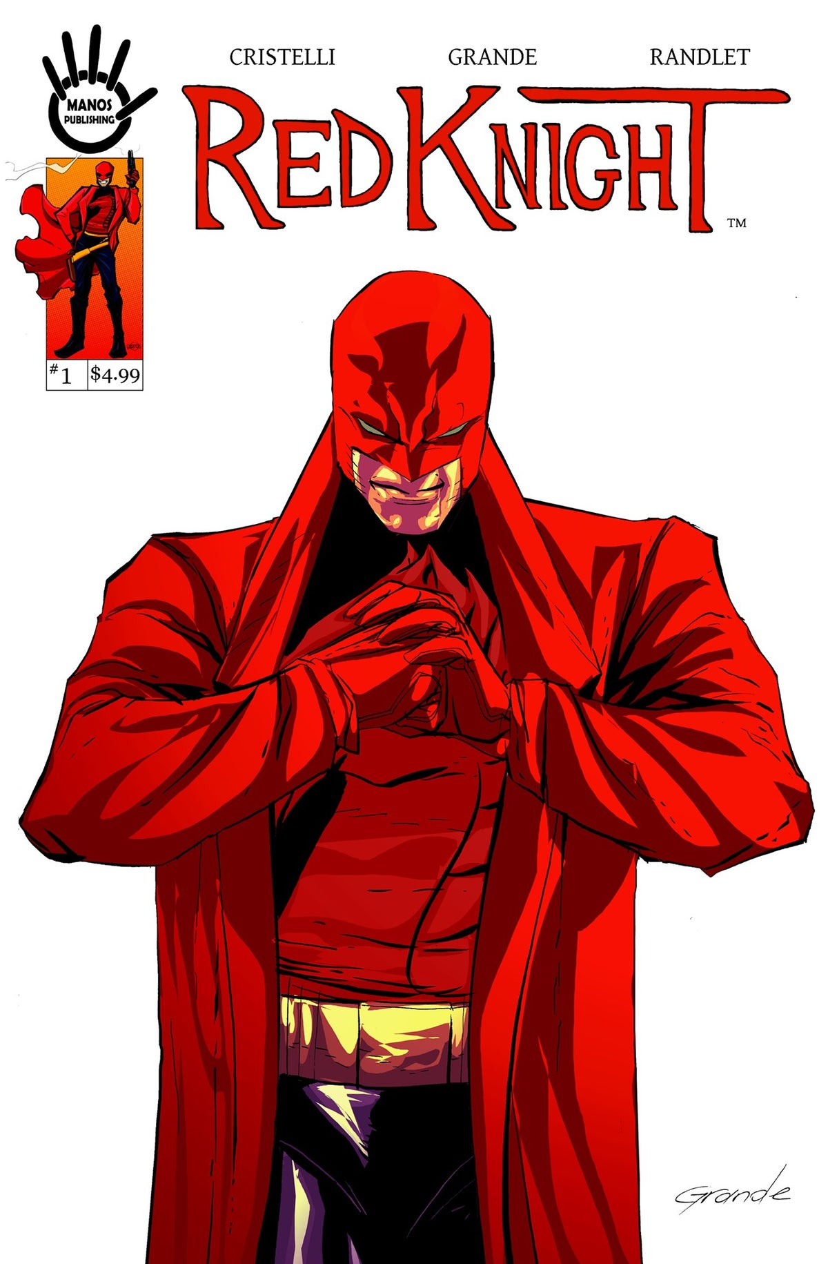 Image of Red Knight #1 Digital Version
